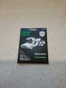 Metal Earth Back to the Future DeLorean Model Kit NEW