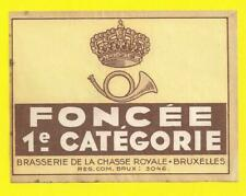 Brasserie  de la Chasse Royale Foncée 1 er catégorie
