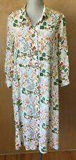 Really Wild Clothing London Liberty Print Floral Silk Shirt Dress 16 UK 12 US