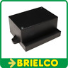 CAJA DE PLASTICO ABS NEGRA PARA MONTAJES ELECTRONICOS 95X65X46MM CA450N BD7931