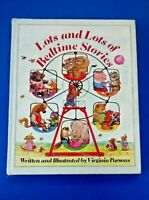 LOTS AND LOTS OF BEDTIME STORIES ~ VINTAGE CHILDRENS HC PICTURE BOOK ~ PARSONS