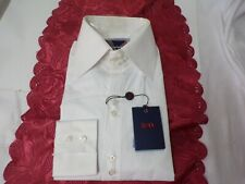 BriO pure cotton size M 15.5/16 white shirt