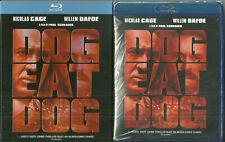 NEW Sealed BLU RAY - DOG EAT DOG - Willem Dafoe - Nicolas Cage - with slipcase