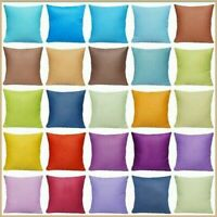 "100% Cotton Premium Soft Throw Pillow Case Decorative Sofa Cushion Cover 18x18"""