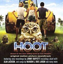 1 CENT CD Hoot [SOUNDTRACK] jimmy buffett / maroon 5 / brie larson