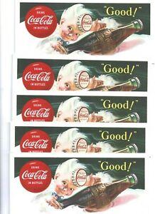 5 1953  COCA-COLA  BLOTTER  SPRITE BOY   NOS MINT  # 2
