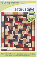 Fruit Cake Quilt pattern - Cozy Quilt Design