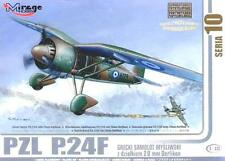 PZL P.24 F (GREEK AF MARKINGS - 1940/1941) 1/48 MIRAGE (rare)