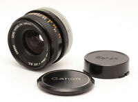 Canon FD 28mm F3.5 S. C. Lens For Canon FD Mount! Good Condition!
