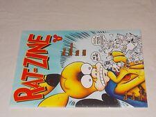 Rat-Zine serie completa 1/3: tiratura limitata ediz. fuori commercio. Magazzino.