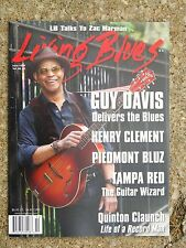 LIVING BLUES Magazine #239 (2015) GUY DAVIS Tampa Red FRANKIE LEE Henry Clement