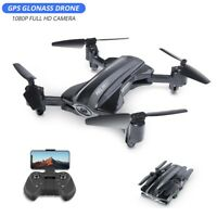 GPS RC quadcopter with 1080P HD camera FPV drone foldable HQ912 tapfly 5G wifi