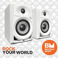 Pioneer DM-40W Studio Monitor Speakers Compact Active Pair 4'' DM40 - White