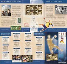 Erinnerungsblatt 1/2007 Handball WM 2007 in Deutschland (MiNr.2578)