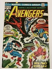 The Avengers #111 Black Widow Joins The Avengers 3.5 VG