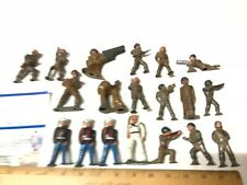 HUGE USA MADE Vintage MINI Painted Lot of 19 Military U.S. Army Toy Soldiers