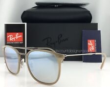 4d08e98b5c8 Ray-Ban RB4286 New LiteRay Model Sunglasses 6166 B8 Beige Silver Mirror 55mm