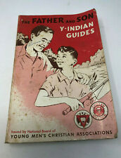"""Y-INDIAN GUIDES MANUAL - 1966 - YMCA """"THE FATHER & SON"""""""