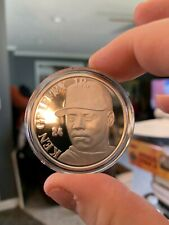 KEN GRIFFEY Jr. Highland Mint metal certificate solid silver coin