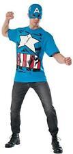 Rubie's Costume Men's Marvel Universe Classic Captain America T-Shirt/Mask XL
