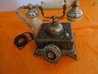 Tolles analog Telefon Wählscheibe Vintage B4