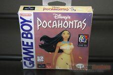 Disney's Pocahontas (Game Boy, 1996) H-SEAM SEALED! - EXCELLENT! - ULTRA RARE!