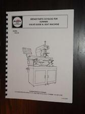 Sunnen VGS-20 Seat & Guide Machine Parts Manual