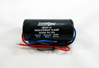 Install Bay 10 AMP In-Line Noise Filter for Car Stereo Ham CB Radio 12 Volt