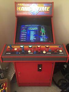 NBA Jam Maximum Hangtime Arcade Machine 1996 Vintage Midway Stand Up 4 Players