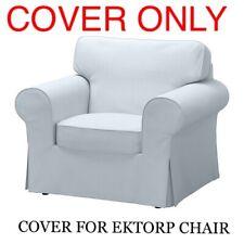IKEA Ektorp COVER SLIPCOVER FOR Armchair Chair Nordvalla Light Blue 803.177.50