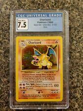 Charizard Pokémon Base Set Unlimited - 4/102 - CGC 7.5