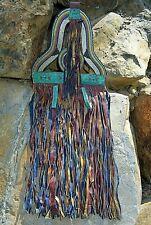 Antique Nomadic Tuareg Tribe Hanging Leather Tent Decoration Fringe Mali, Africa