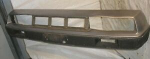 1981 Delorean DMC 12 OEM Front Bumper Cover Fascia