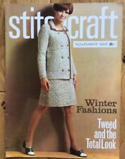Vintage Stitchcraft Magazine. November 1966