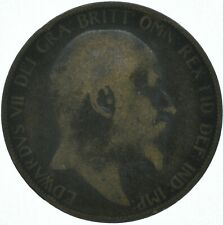 1906 ONE PENNY COIN EDWARD VII GREAT BRITAIN    #WT16233