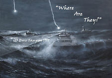 """EDMUND FITZGERALD FreighterSearch-8x10 Reg.Edn. """"Where Are They?"""" byDorisSampson"""