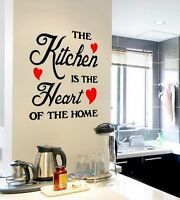 Removable Quote Word Decals Vinyl DIY Home Kitchenroom Decor Art Wall Stickers