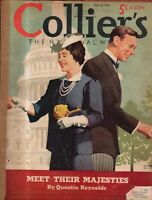 1939 Colliers June 10 - King and Queen Visit Canada
