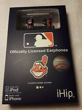 New MLB Baseball Cleveland Indians IHIP Ear buds Earphones