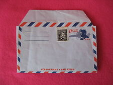 JFK Envelope Unused PrePaid Air Mail USA John Kennedy 11c & Abe Lincoln 4c Stamp