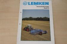 158089) Lemken Kurzscheibenegge Rubin 9 Prospekt 11/2006