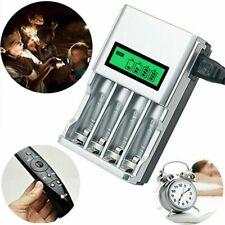 Akku Batterie Aufladegerät LCD Ladegerät AA AAA Schnelladegerät Battery Charger