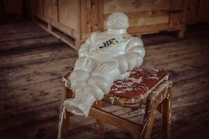 "Vintage rare Michelin man 15"" head to toe 70's? Nice example No breakage."