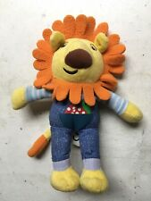 CBeebies Story Train Driver Dan Lion Soft Toy 8""