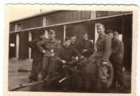 Foto 2.WK  Flak Geschütz  Luftwaffe Kaserne Dessau ca. 1940 Wehrmacht WW2 C38