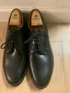 Alden Style #461 Foot Balance System Moc Toe Derby In Black Calf 11 EEE NEW $517
