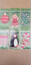 Holiday Time Stocking Personalization Lot Of 6, All Different, Brand New