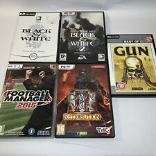 Football Manager 2015, Blank And White, Gun, Dawn Of War - PC Game Bundle