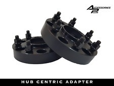 """2 Pc 2015-2019 Expedition Black Hub Centric Wheel Spacers 2.00"""" AP-6135EHCB1415"""