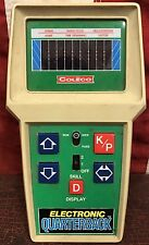 Vtg 1980 Coleco Football Electronic Quarterback Handheld Game Works & Tested